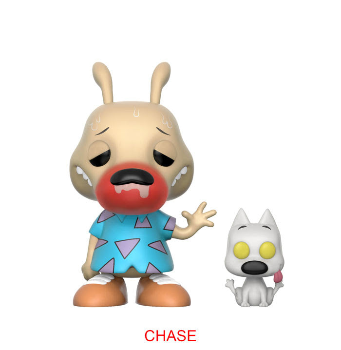 Rocko's Modern Life Rocko and Spunky Chase Pop! Vinyl Figure