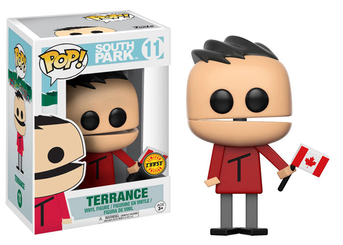 Preorder September 2017 South Park Terrance Chase Pop! Vinyl Figure