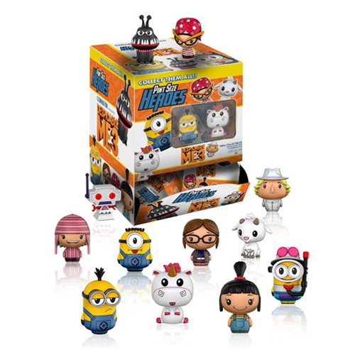 Preorder May 2017 Despicable Me 3 Pint Size Heroes Mini-Figures 6 Pack