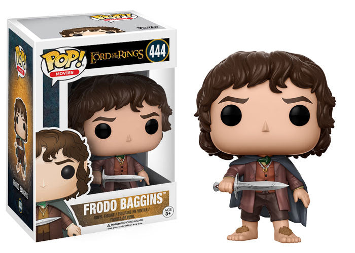 The Lord of the Rings Frodo Baggins with Sting Sword Pop! Vinyl Figure #444
