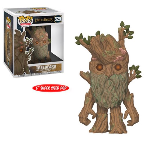 Preorder  The Lord of the Rings Treebeard 6-Inch Pop! Vinyl Figure #529