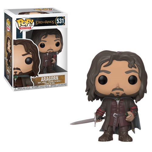Preorder  The Lord of the Rings Aragorn Pop! Vinyl Figure #531