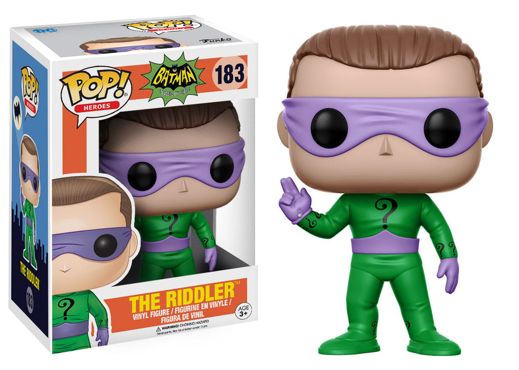 Batman Classic 1966 TV Series Riddler Pop! Vinyl Figure #183