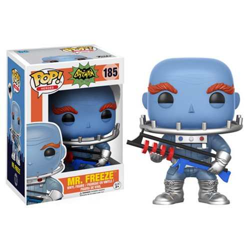 Batman 1966 TV Series Mr. Freeze Otto Preminger Pop! Vinyl Figure #185