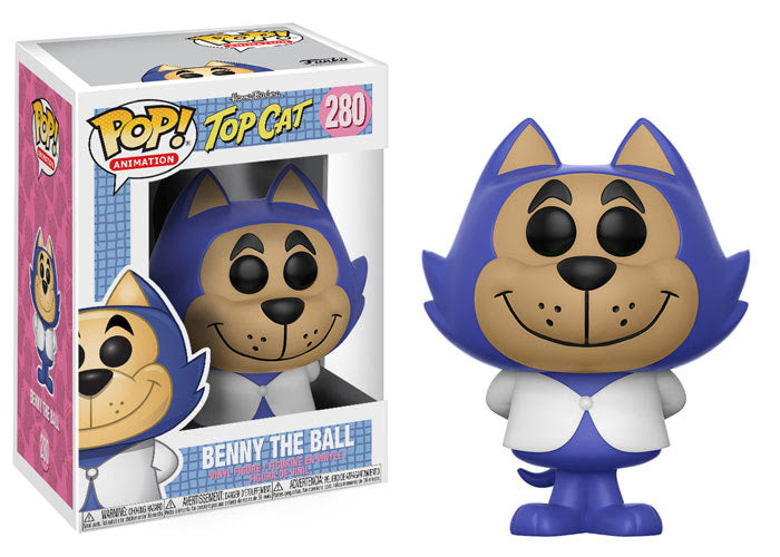 Hanna-Barbera Benny the Ball Pop! Vinyl Figure #280