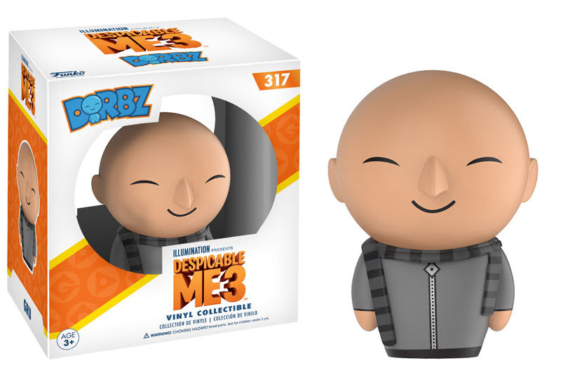 Preorder May 2017 Despicable Me 3 Gru Dorbz Vinyl Figure