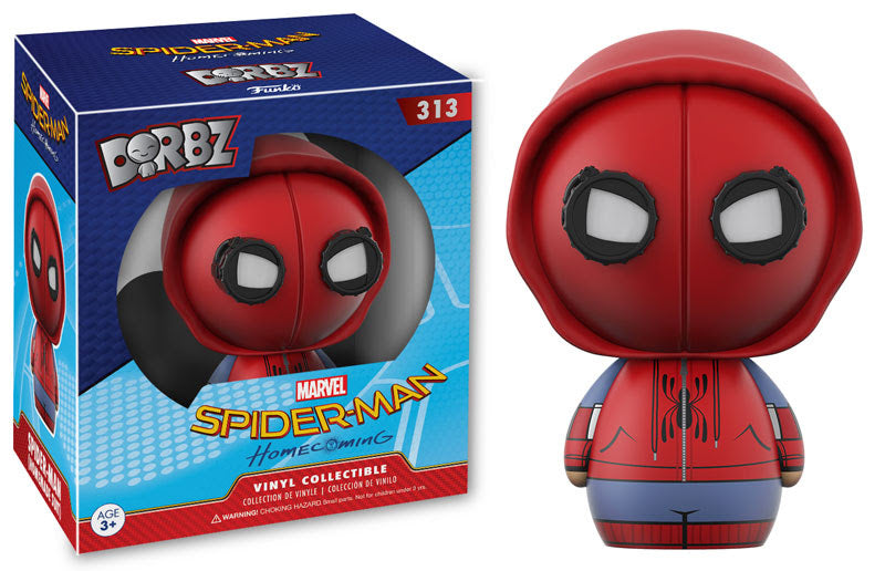 Spider-Man Homecoming Spider-Man Homemade Suit Dorbz Figure