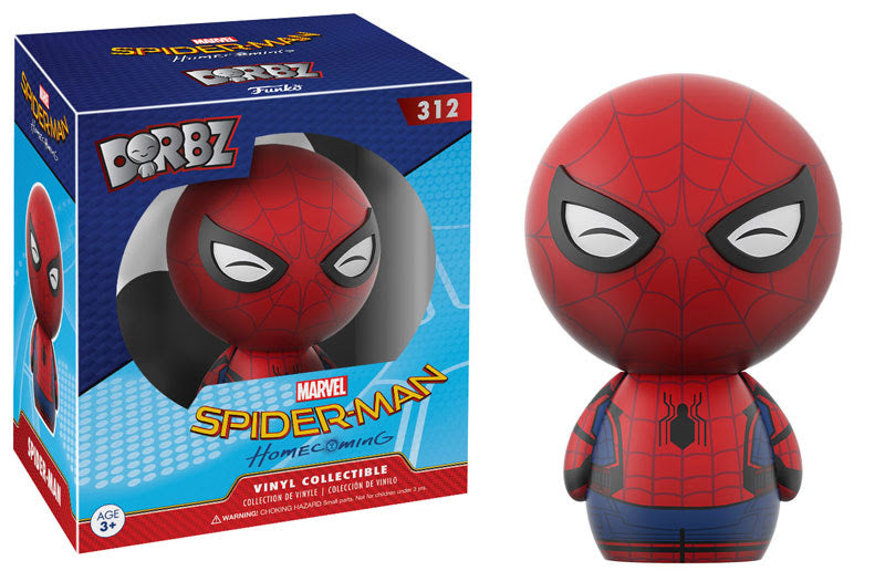 Preorder May 2017 Spider-Man Homecoming Spider-Man Dorbz Figure