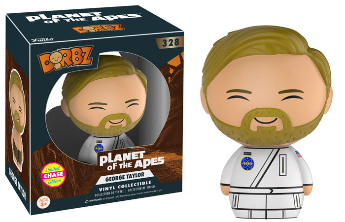 Preorder May 2017 Planet of the Apes George Taylor Chase Dorbz Vinyl Figure
