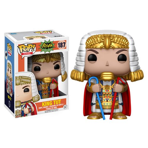 Batman 1966 TV Series King Tut Pop! Vinyl Figure #187