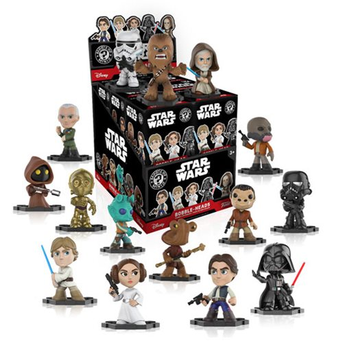 Preorder September 2017 Star Wars Classic Mystery Minis Bobble Head Case of 12