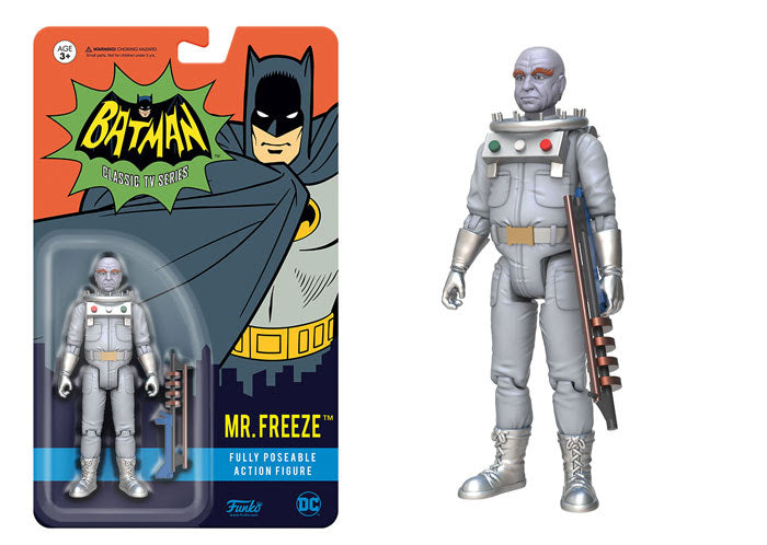 Batman 1966 Mr. Freeze Action Figure
