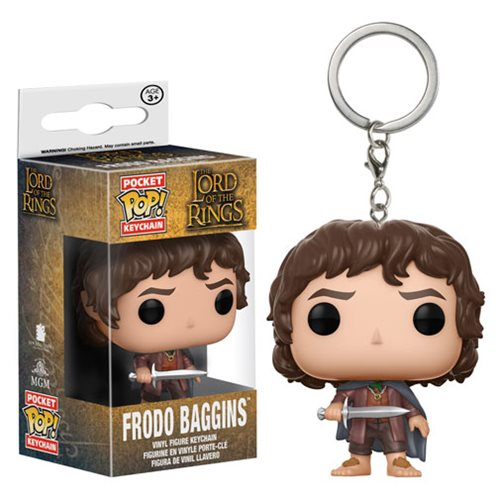 The Lord of the Rings Frodo Baggins Pocket Pop! Key Chain