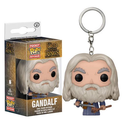 Preorder August 2017 The Lord of the Rings Gandalf Pocket Pop! Key Chain