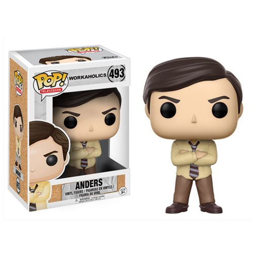 Preorder July 2017 Workaholics Anders Pop! Vinyl Figure