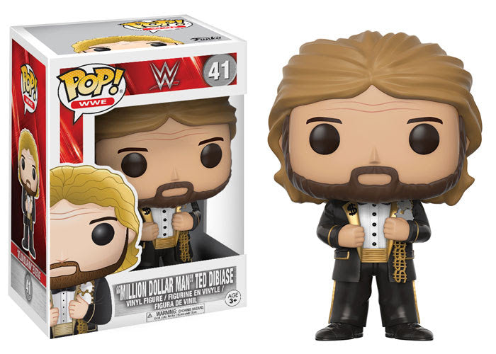 WWE Mill Dollar Man Old School Ted Dibiase POP! Vinyl Figure #41