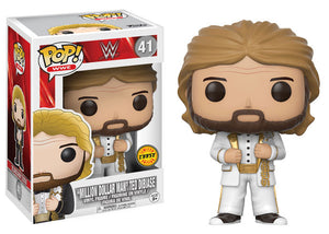 Preorder August 2017 WWE Mill Dollar Man Old School Chase POP! Vinyl Figure