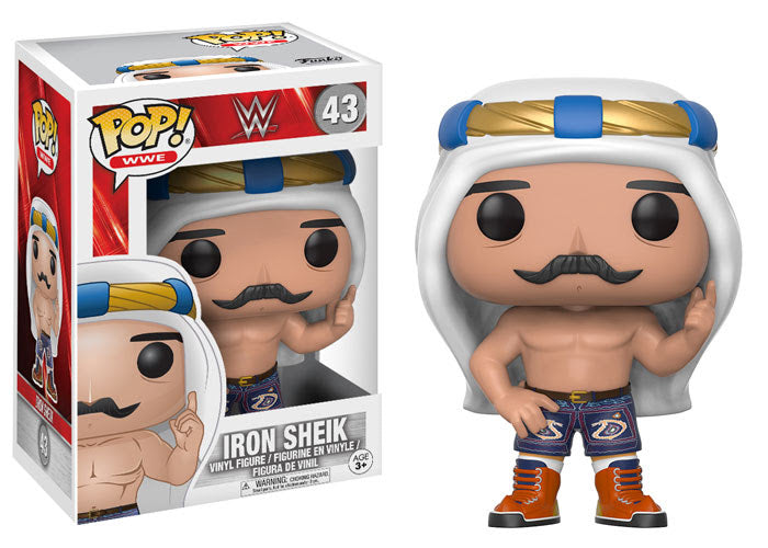 WWE Iron Sheik Old School Pop! Vinyl Figure $43
