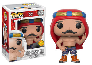 Preorder August 2017 WWE Iron Sheik Chase POP! Vinyl Figure