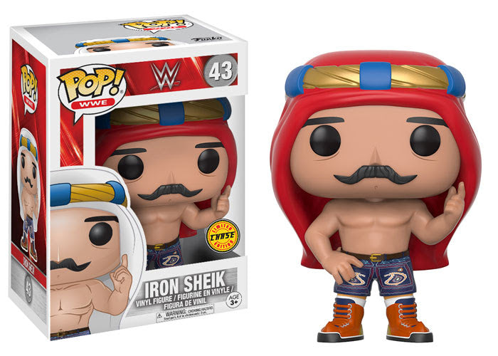 WWE Iron Sheik Chase POP! Vinyl Figure