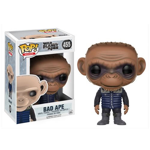 War for the Planet of the Apes Bad Ape Pop! Vinyl Figure #455