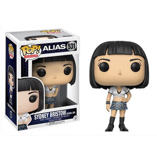 Alias Sydney Bristow School Girl Pop! Vinyl Figure #531