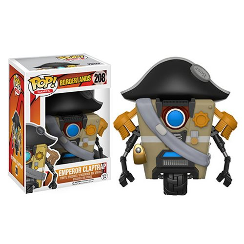 Borderlands Emperor Claptrap Pop! Vinyl Figure #208