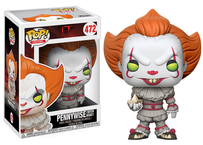 Preorder September 2017  Stephen King's It Pennywise Clown Pop! Vinyl Figure #472