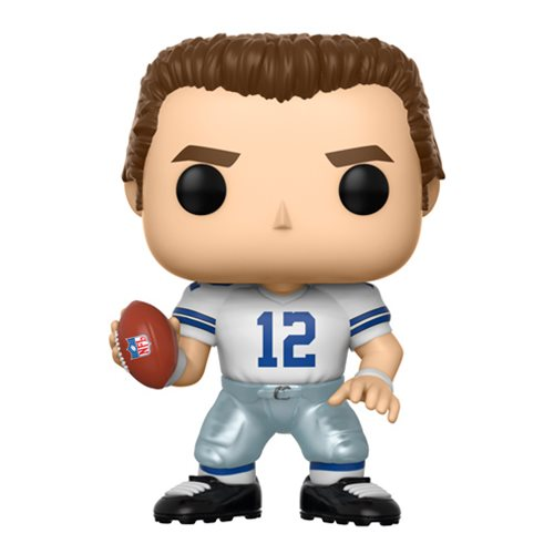 Preorder  NFL Legends Roger Staubach Cowboys Home Pop! Vinyl Figure #82