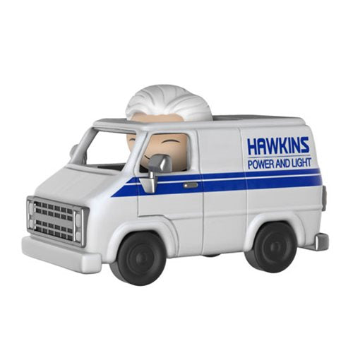 Preorder December 2017 Stranger Things Brenner with Hawkins Utility Van Dorbz Ridez Figure