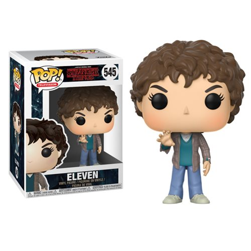 Preorder  Stranger Things Eleven Pop! Vinyl Figure #545