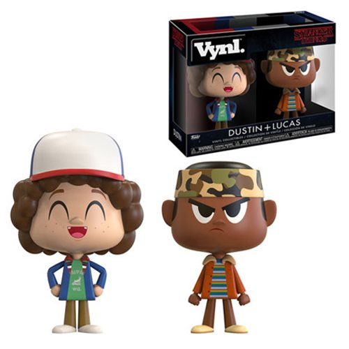 Stranger Things Lucas and Dustin VYNL Vinyl Figures 2-Pack