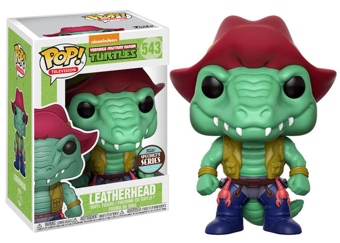 Specialty Series TMNT Teenage Mutant Ninja Turles Leatherhead POP! Vinyl Figure #543