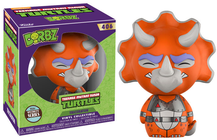 Specialty Series TMNT Triceratons Dorbz Figure