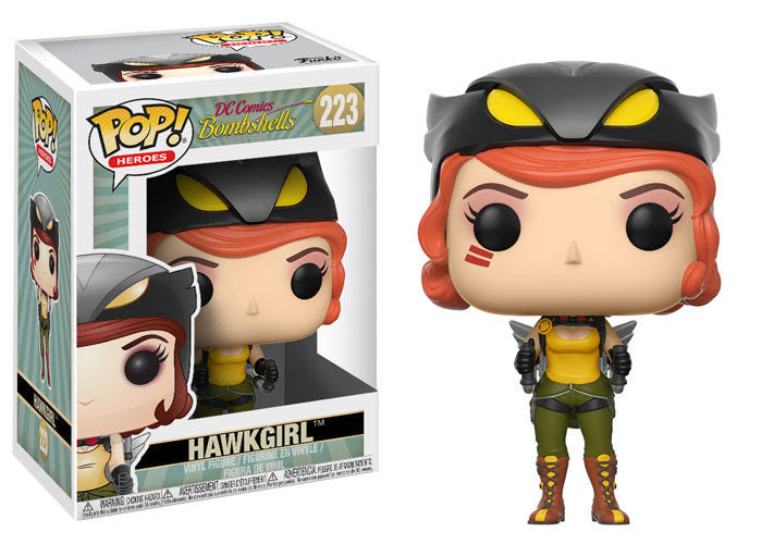 7abab1fb877 DC Bombshells Hawkgirl Pop! Vinyl Figure – Toy Wars