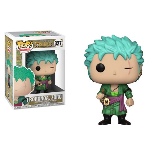 Preorder February 2108 One Piece Roronoa Zoro Pop! Vinyl Figure #327
