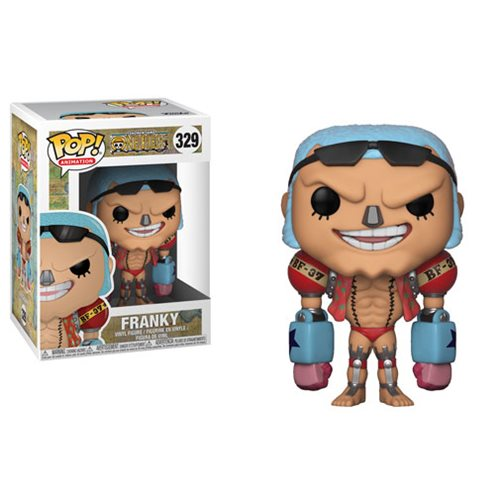 Preorder February 2108 One Piece Franky Pop! Vinyl Figure #329