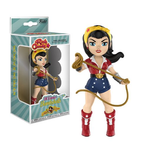 Preorder  DC Bombshells Wonder Woman Rock Candy Vinyl Figure