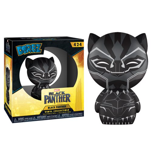 Black Panther Dorbz Vinyl Figure #424