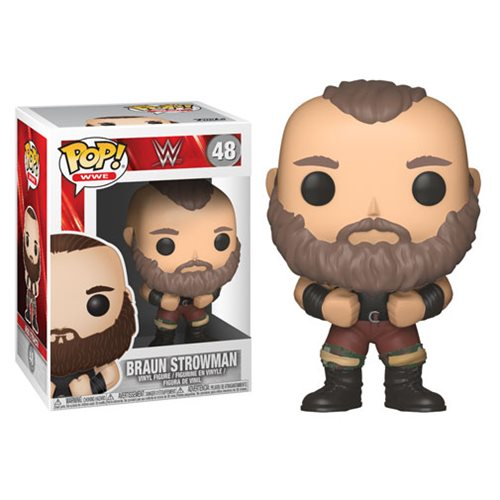 Preorder January 2018 WWE Braun Strowman Pop! Vinyl Figure #48