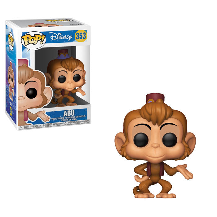 Preorder August 2018 Aladdin Abu Pop! Vinyl Figure #353