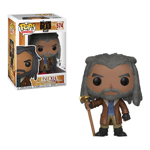 Preorder March 2018 The Walking Dead Ezekiel Pop! Vinyl Figure #574