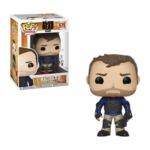 Preorder March 2018 The Walking Dead Richard Pop! Vinyl Figure #575