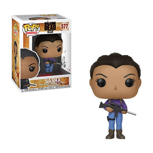 Preorder March 2018 The Walking Dead Sasha Pop! Vinyl Figure #577