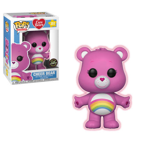 Preorder August 2018 Care Bears Cheer Bear Chase Pop! Vinyl Figure #351