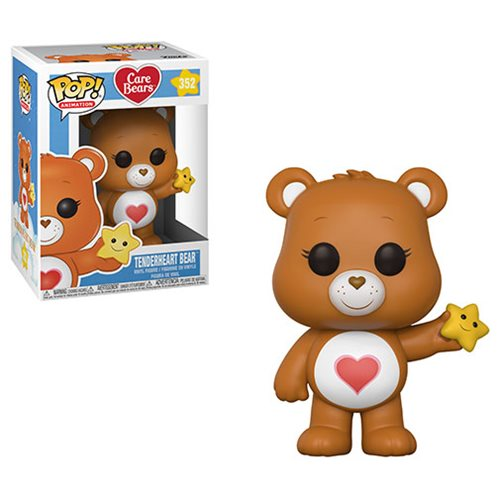 Preorder April 2018 Care Bears Tenderheart Bear Pop! Vinyl Figure #352