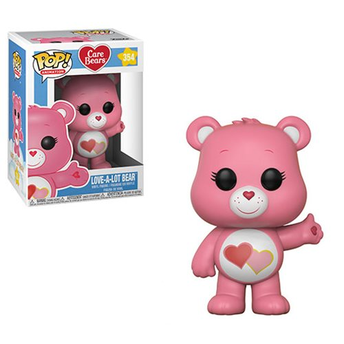Preorder April 2018 Care Bears Love-A-Lot Bear Pop! Vinyl Figure #354