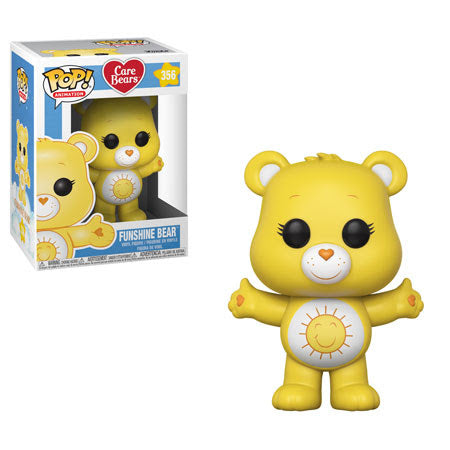 Preorder  Care Bears Funshine Bear Pop! Vinyl Figure #356