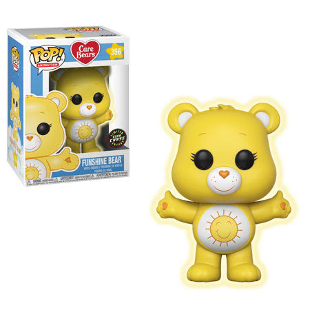 Preorder  Care Bears Funshine Bear Chase Pop! Vinyl Figure #356