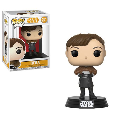 Star Wars: Solo Qi'ra Pop! Bobble Head